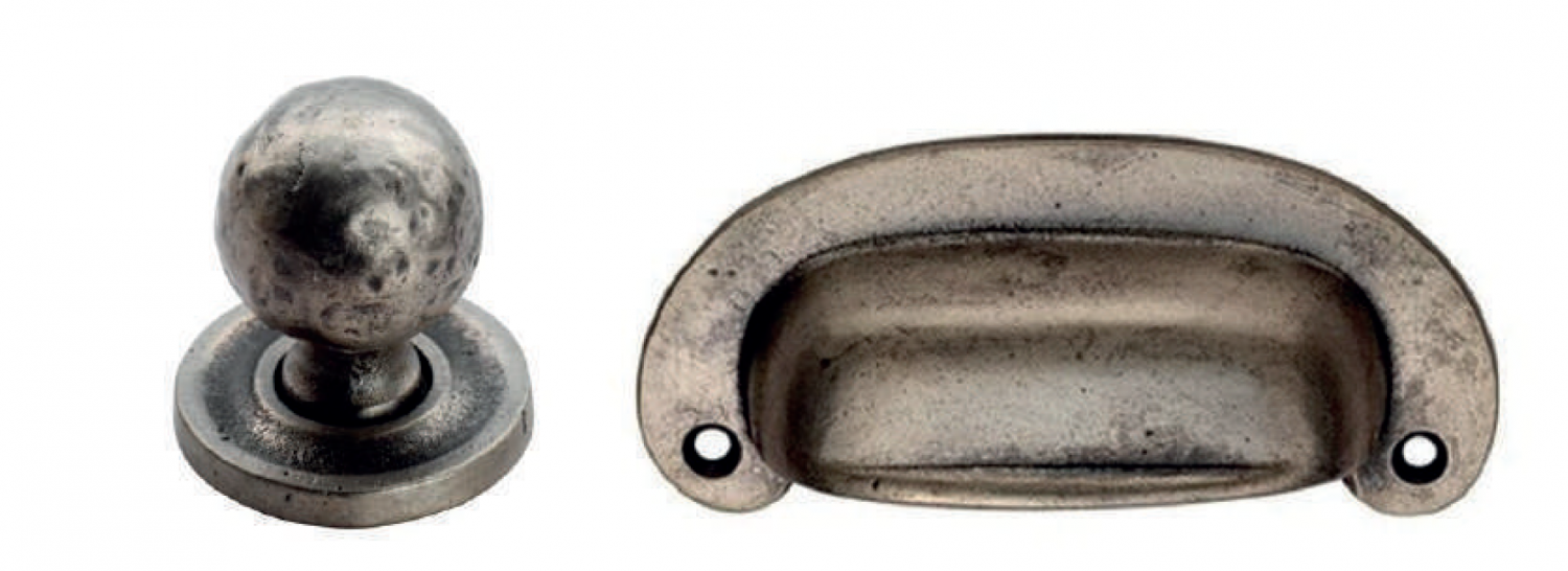 Perter knob and cup kitchen handles