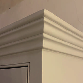 Traditional Painted Cornice