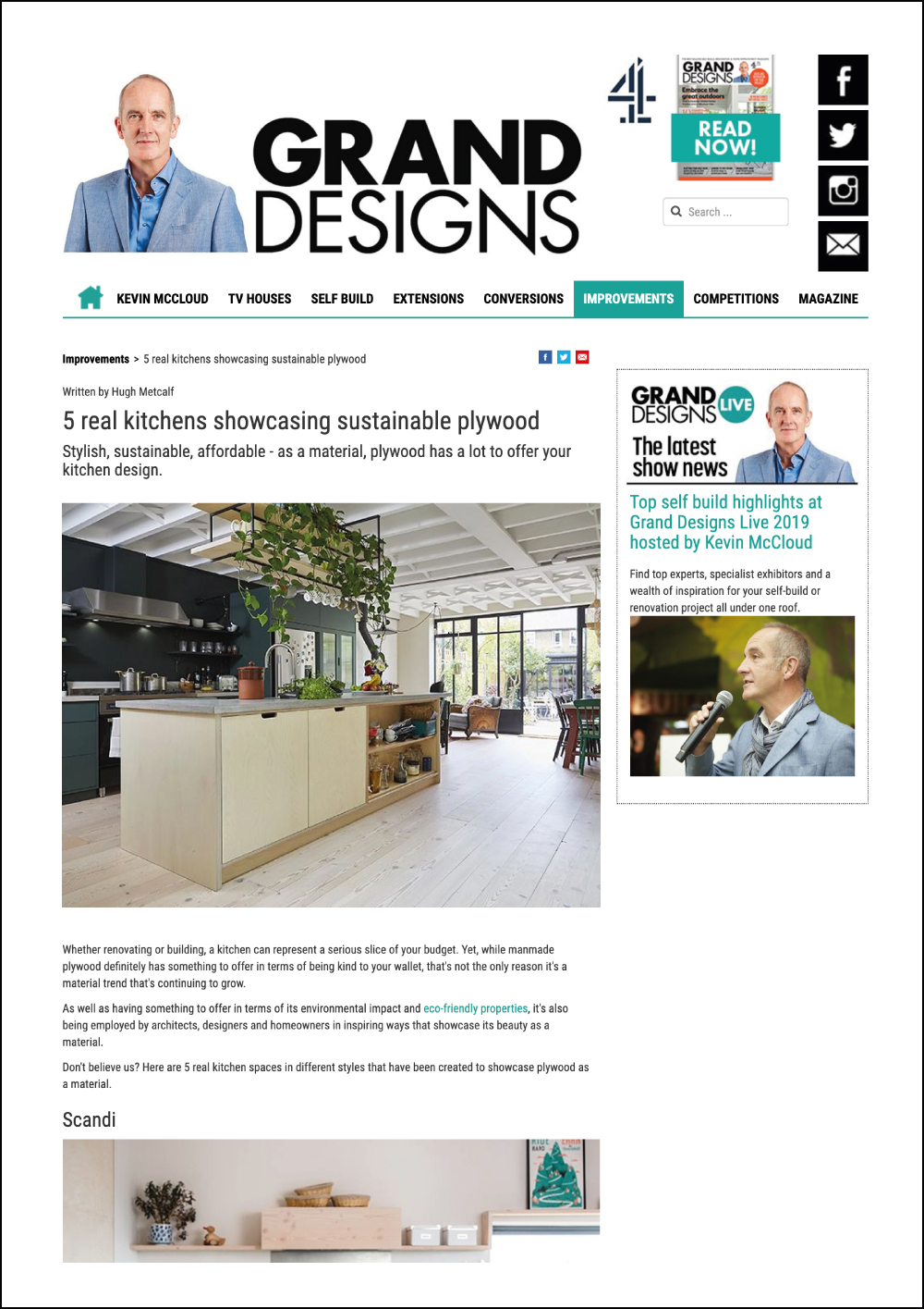 Grand Designs Online