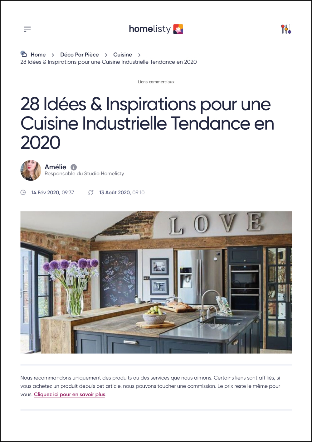 Homelisty Online Magazine