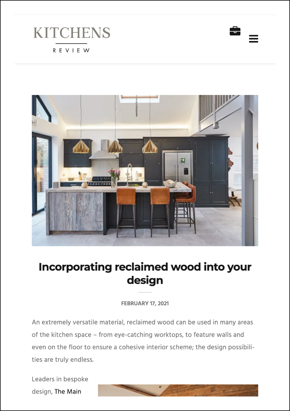 Kitchens Review Online