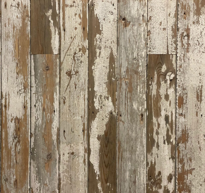 Distressed White Cladding