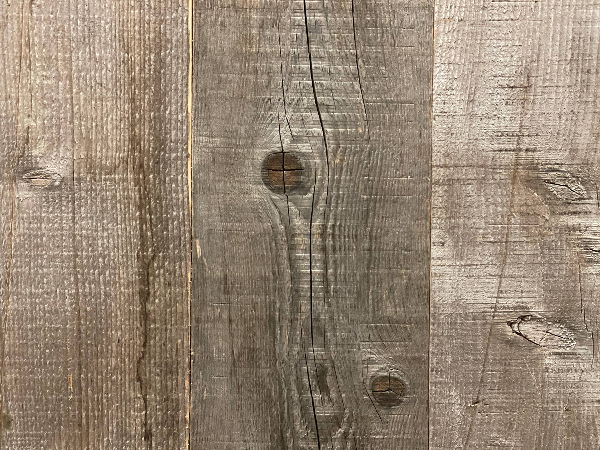 Wood knot in cladding
