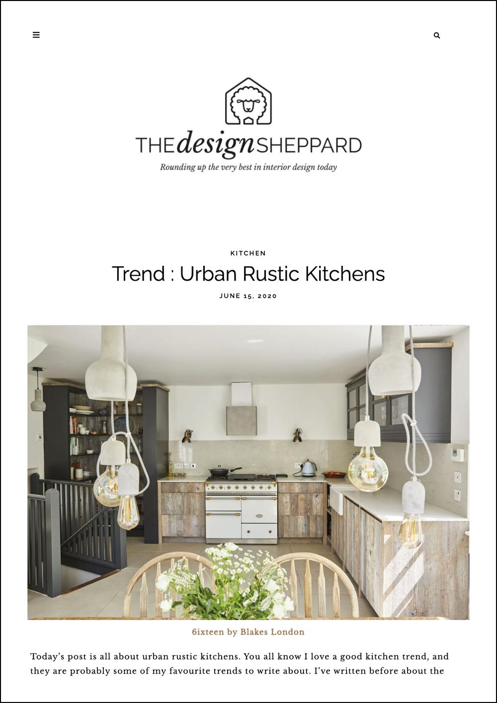 The Design Sheppard Online