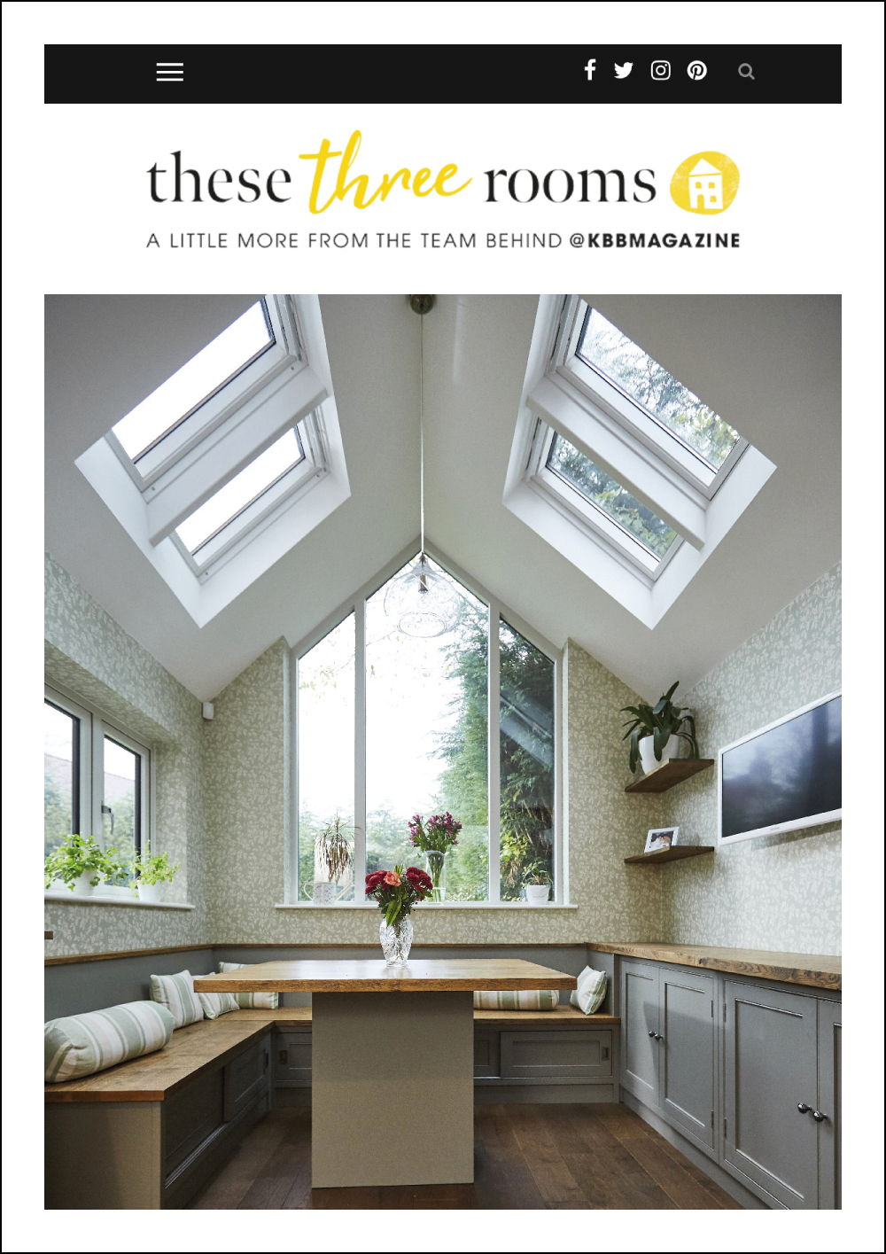 These Three Rooms Online Magazine