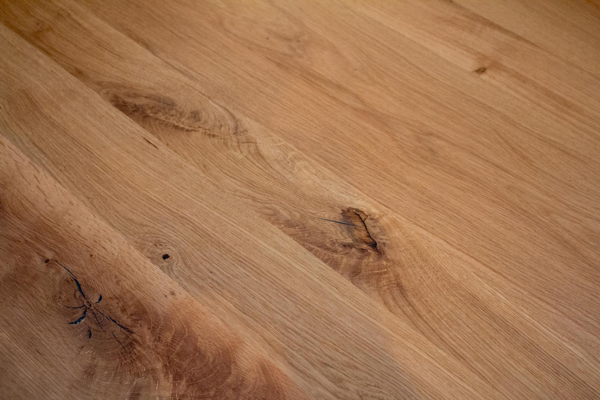 French oak wood sample