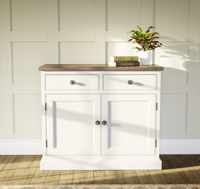 Traditional sideboard with reclaimed worktop