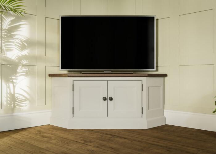 Painted TV unit