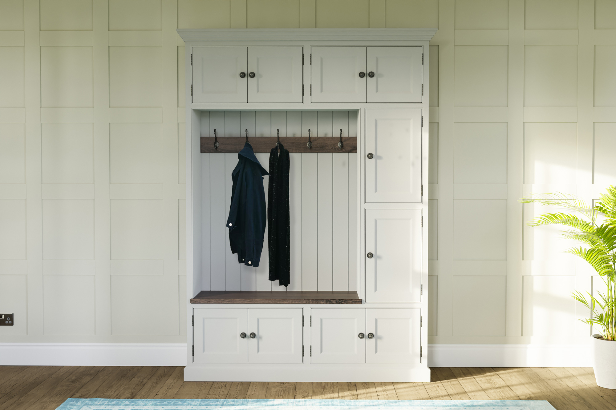 Traditional Boot Cupboard
