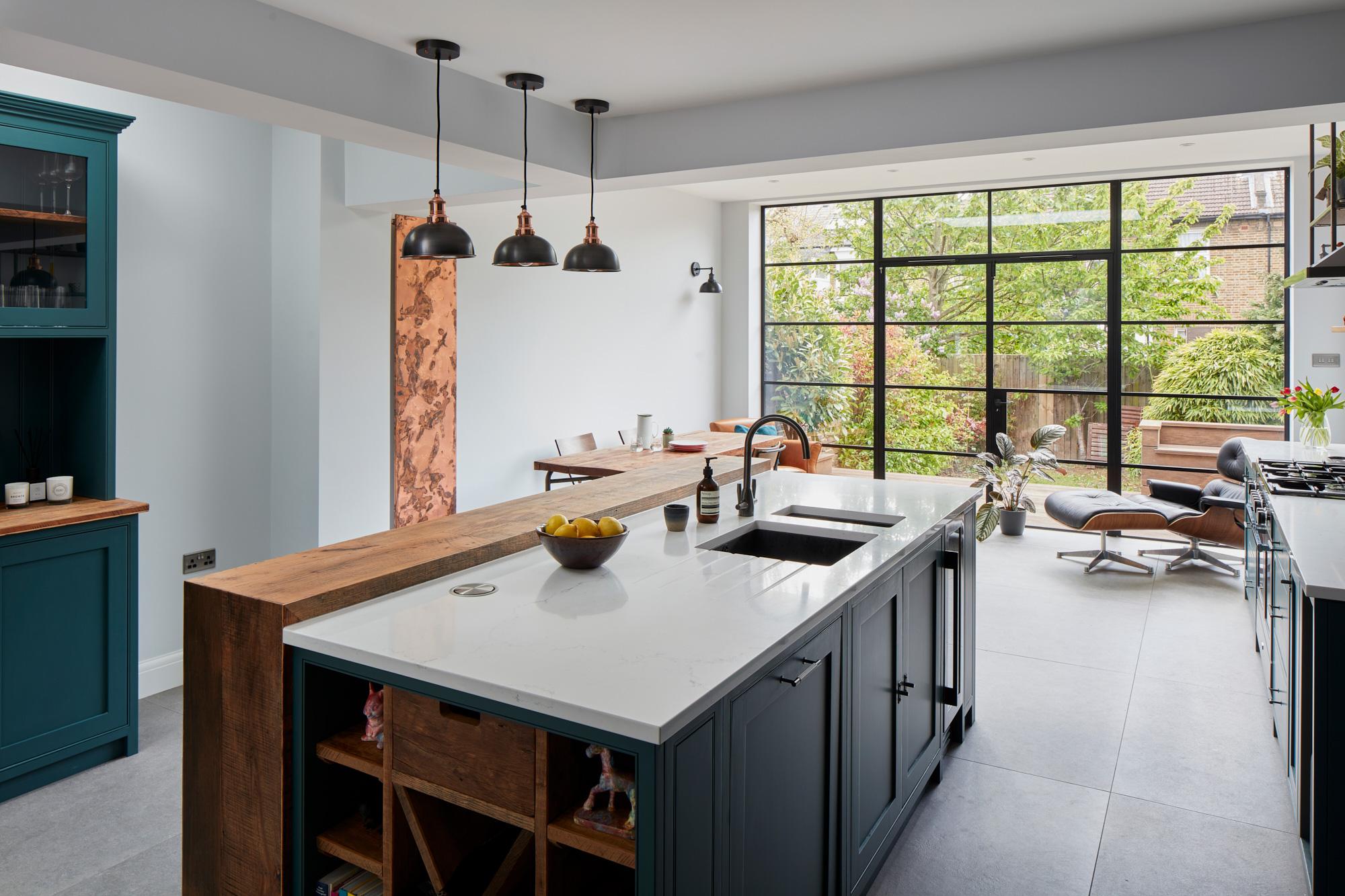 Large Industrial kitchen island