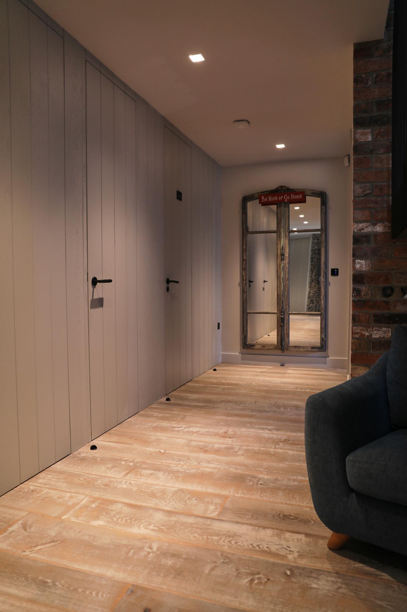 Hallway Oak Flooring