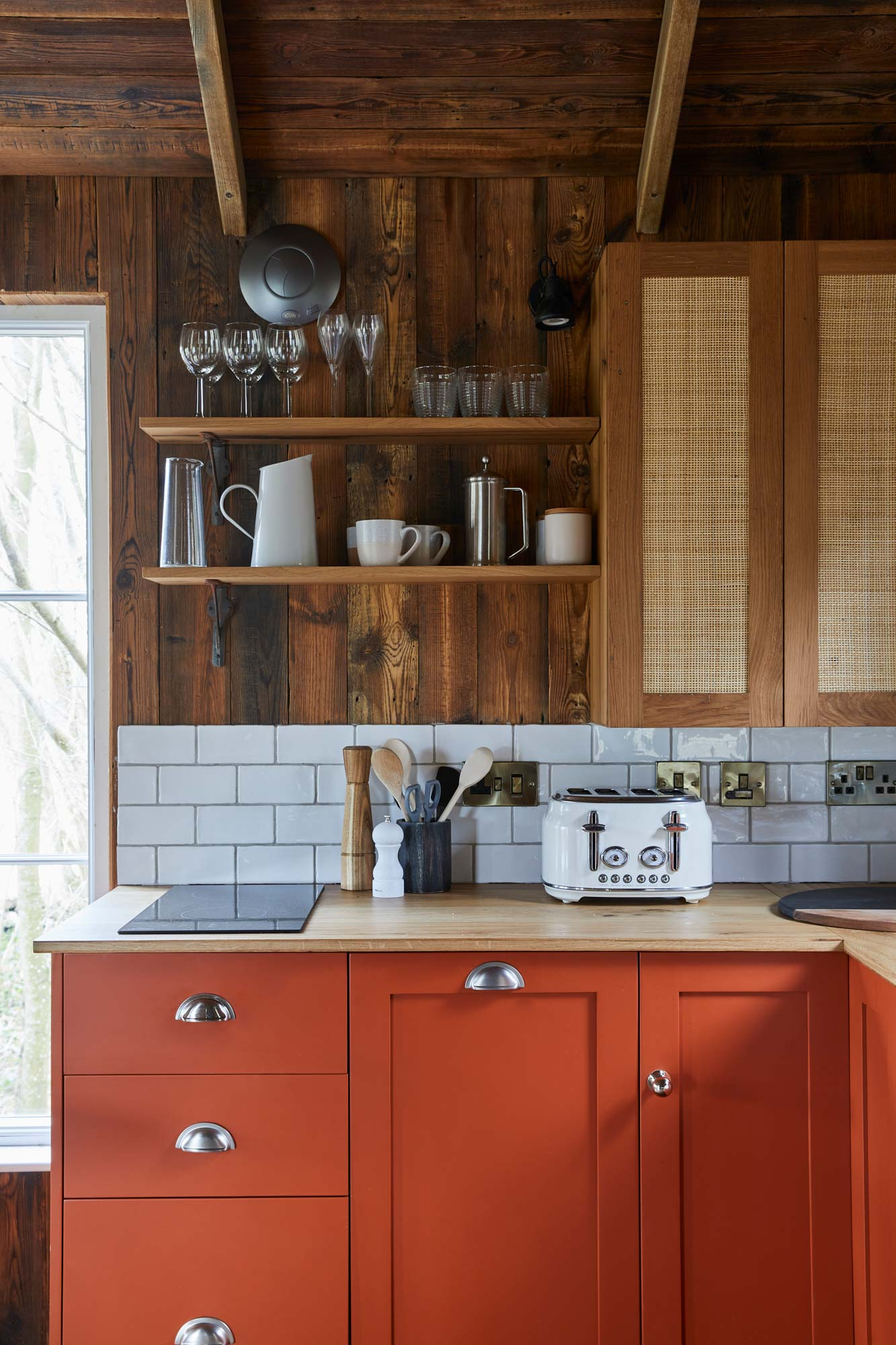 Bespoke Orange Kitchen