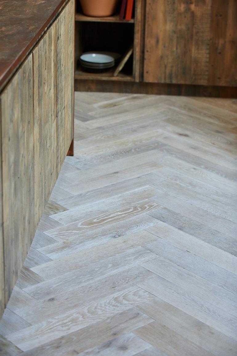 Mountain ridge oak parquet flooring