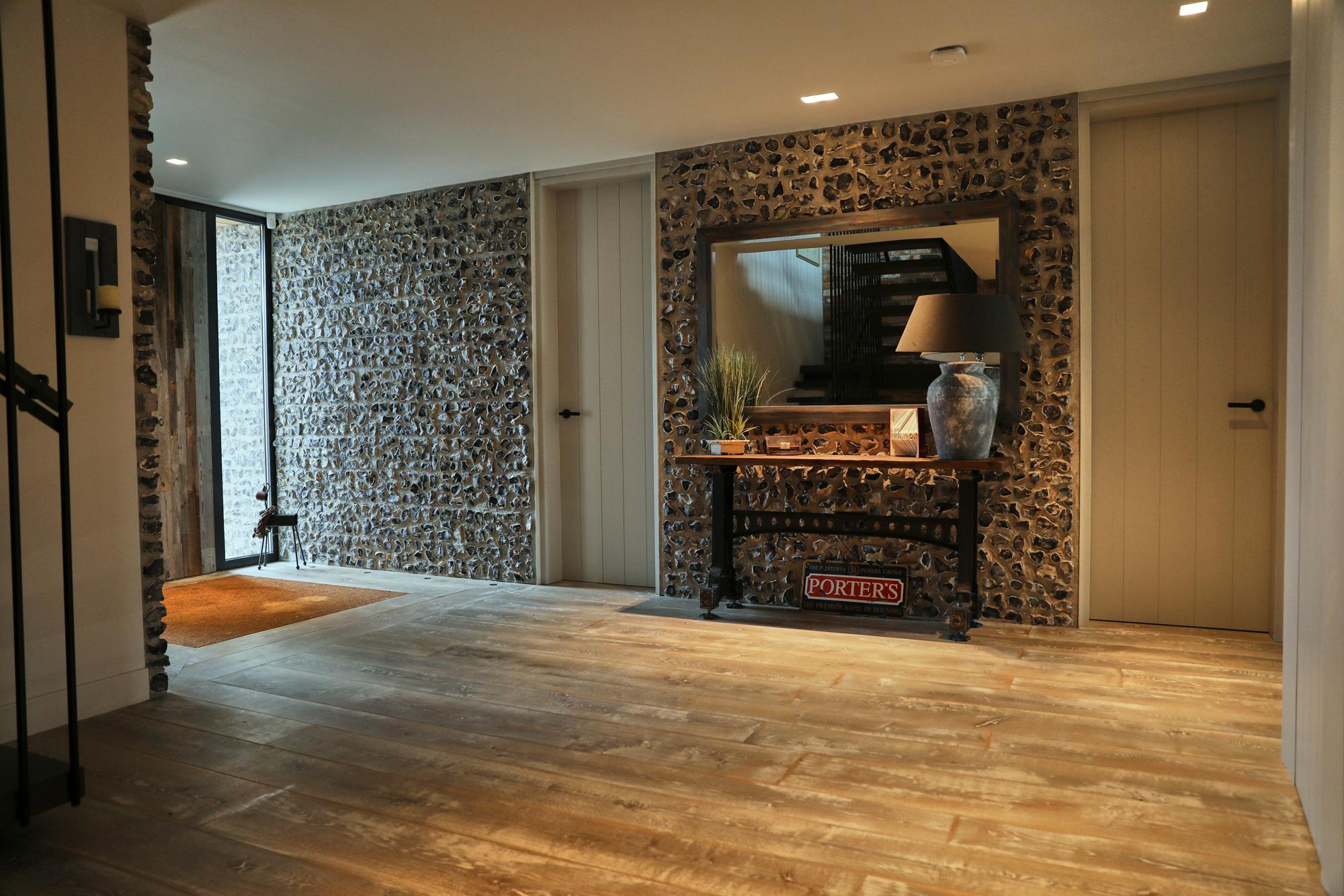 Driftwood flooring