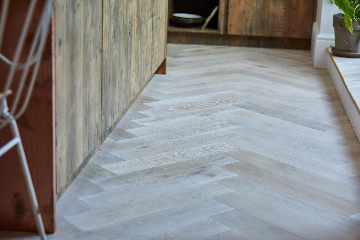 wood kitchen floor