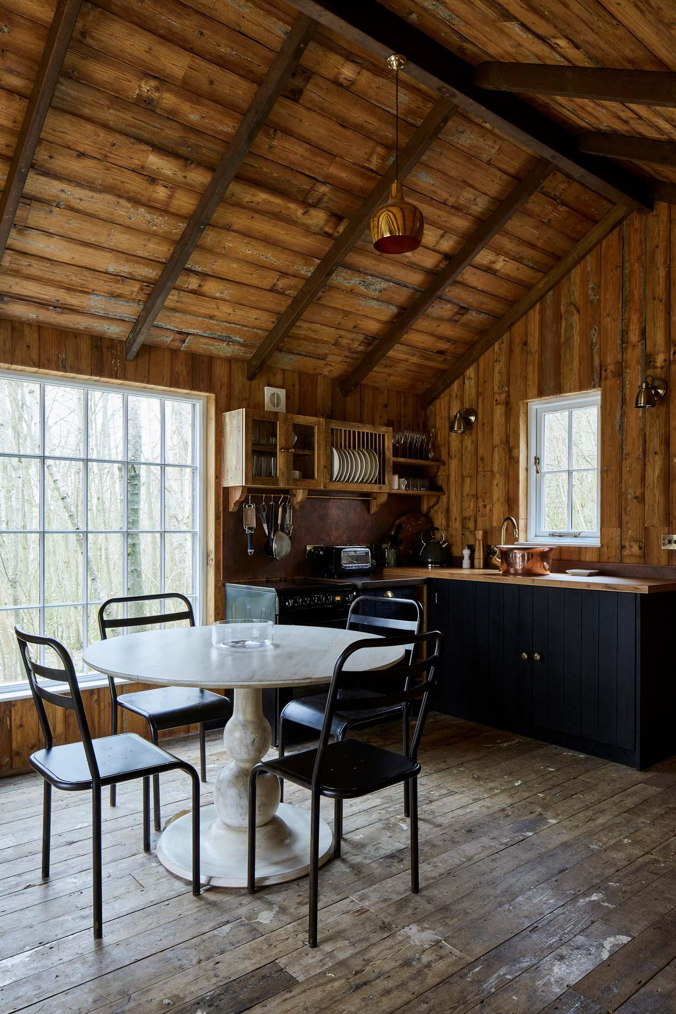 bespoke treehouse kitchen