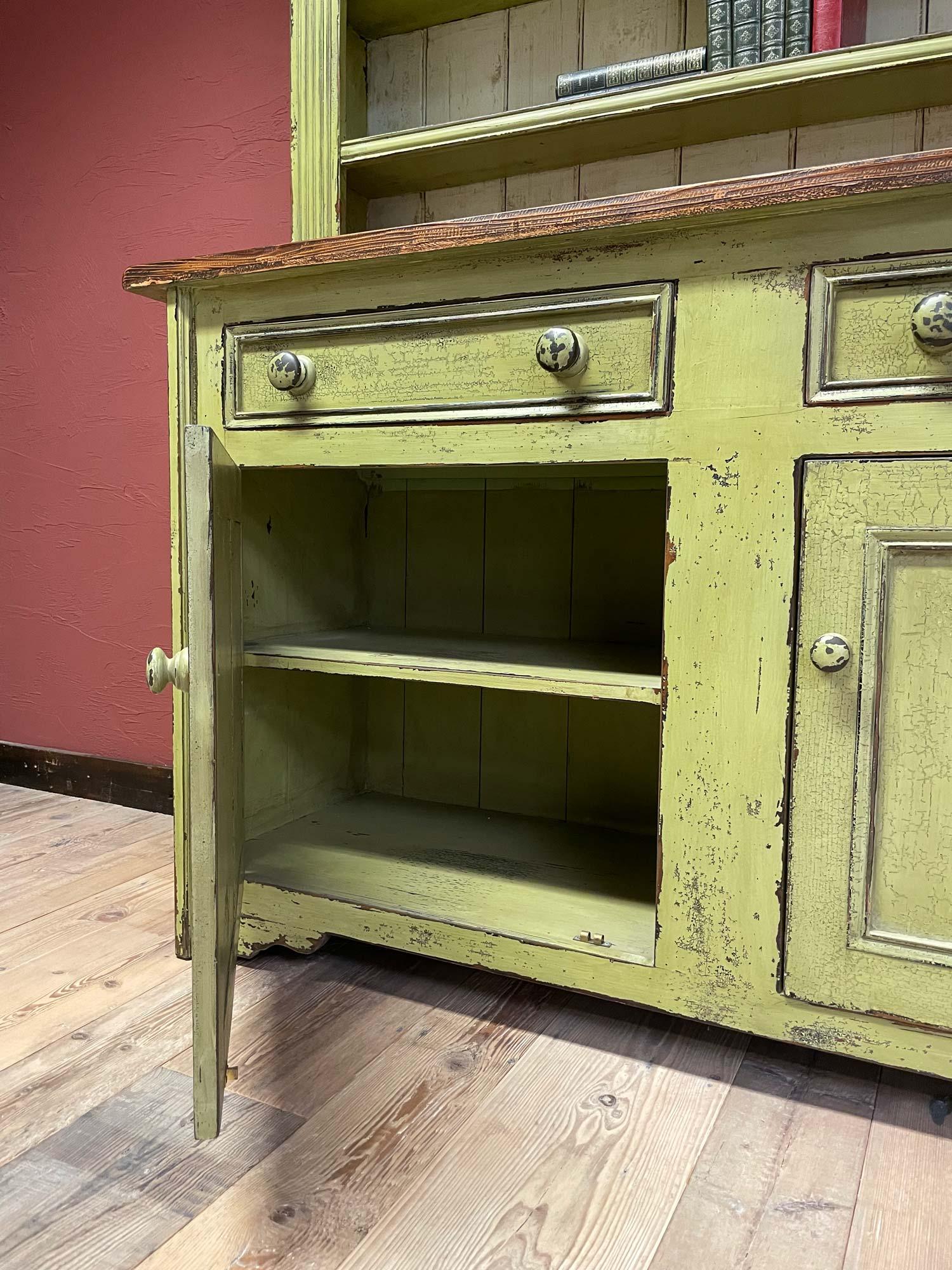 Green Dresser Storage
