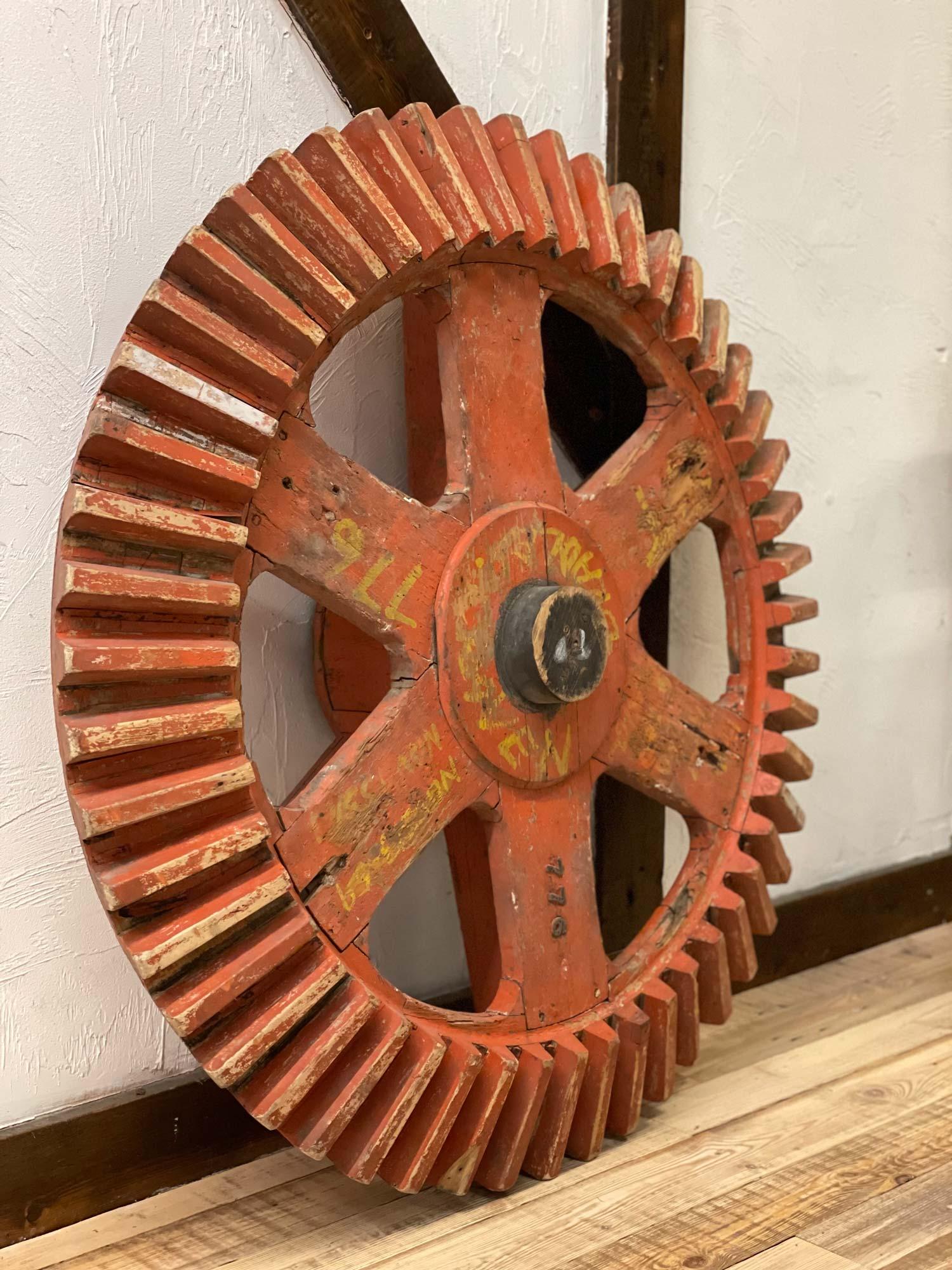 Mill cogwheel