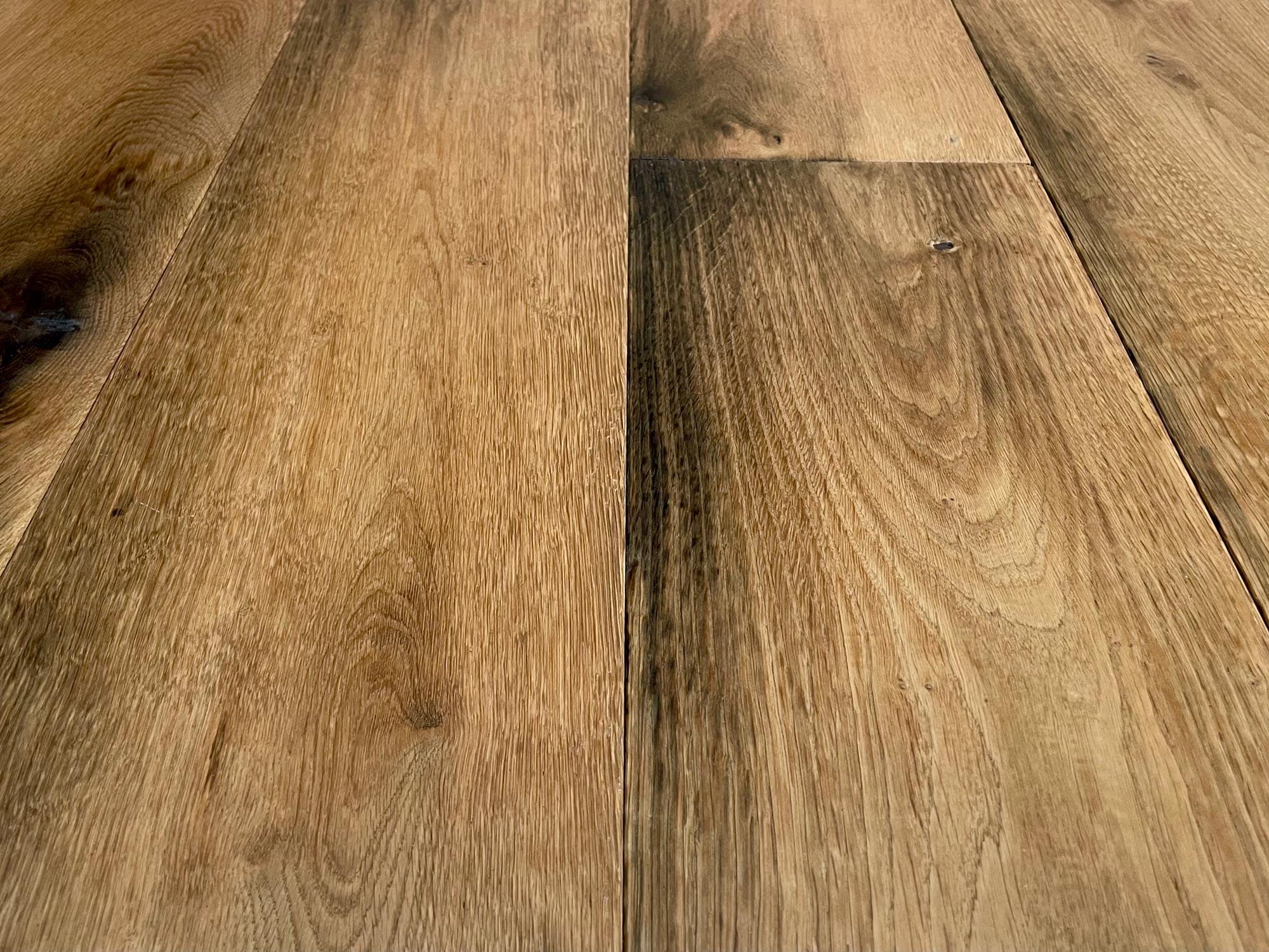 Old foundry oak flooring