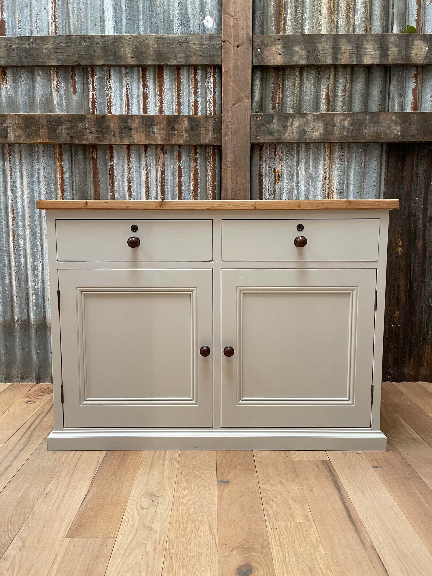 Original pained sideboard