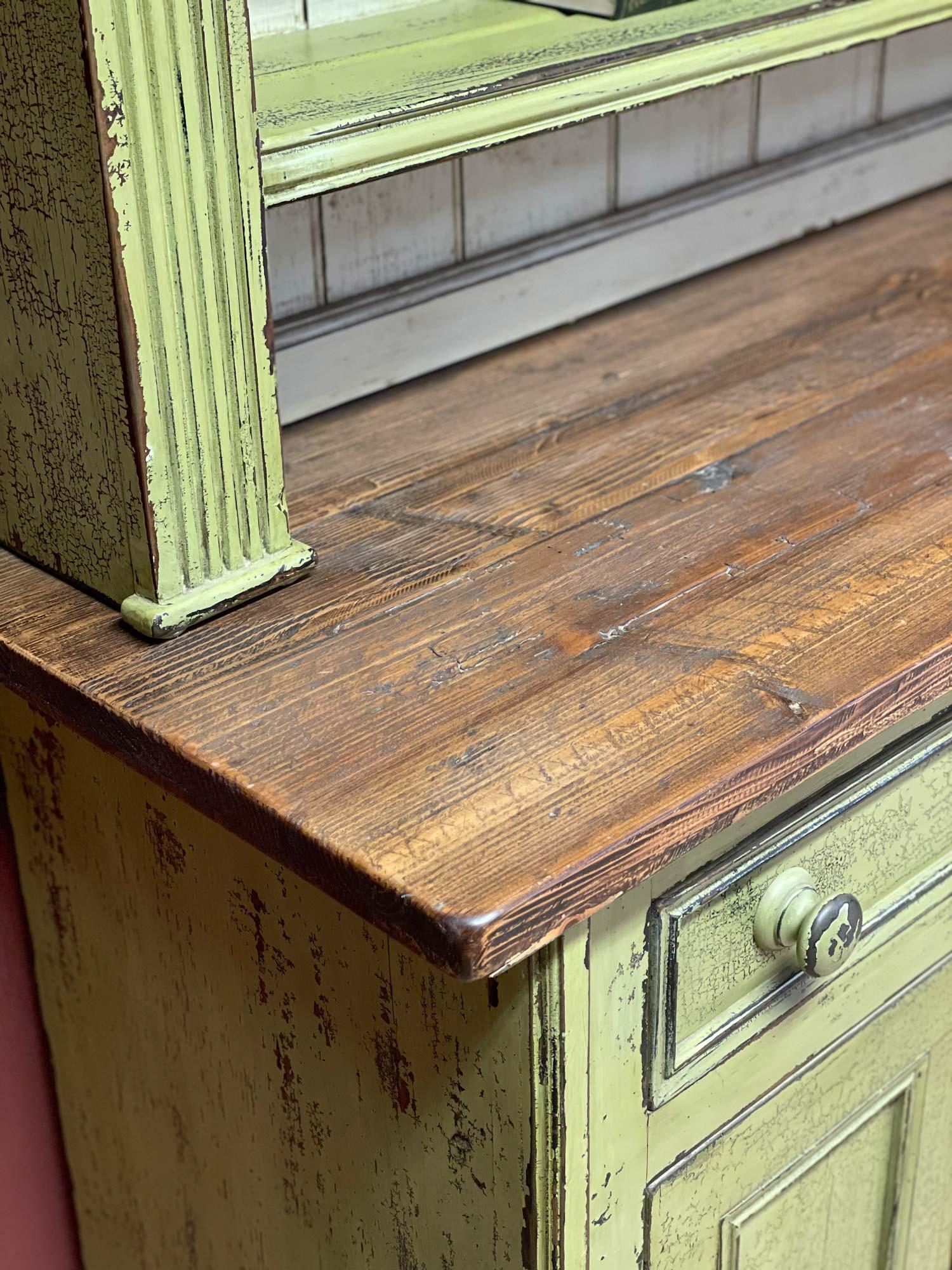 Original dresser reclaimed worktop
