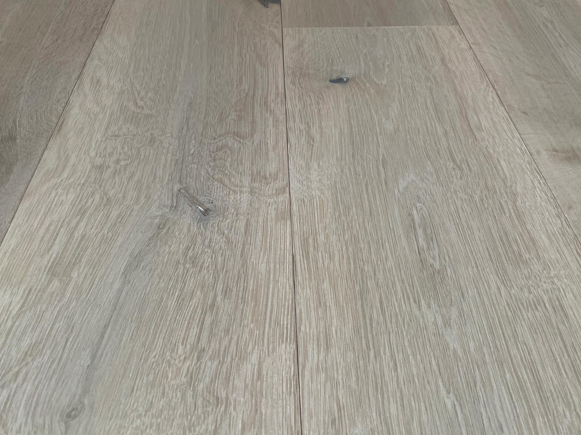 Washed engineered oak flooring