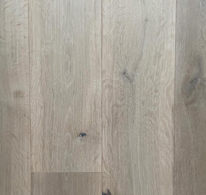 Washed foundry engineered oak