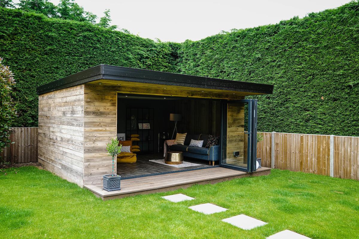 Reclaimed bespoke outdoor garden room