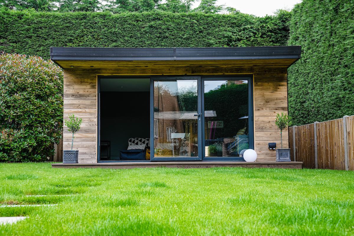 Bespoke outdoor garden room
