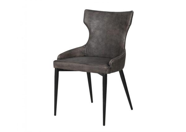 Grey vintage dining chair