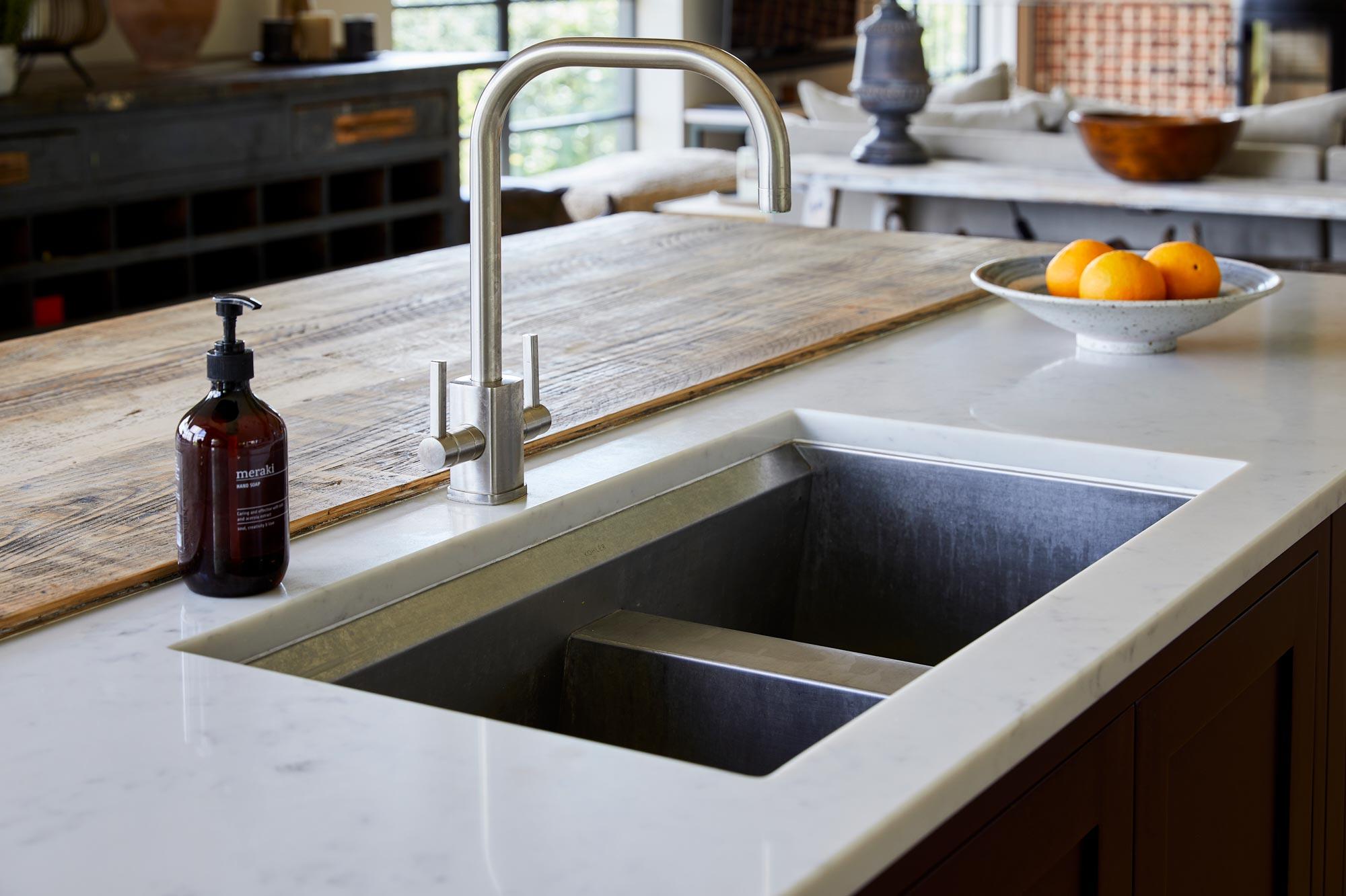 Kohler stainless steel sink