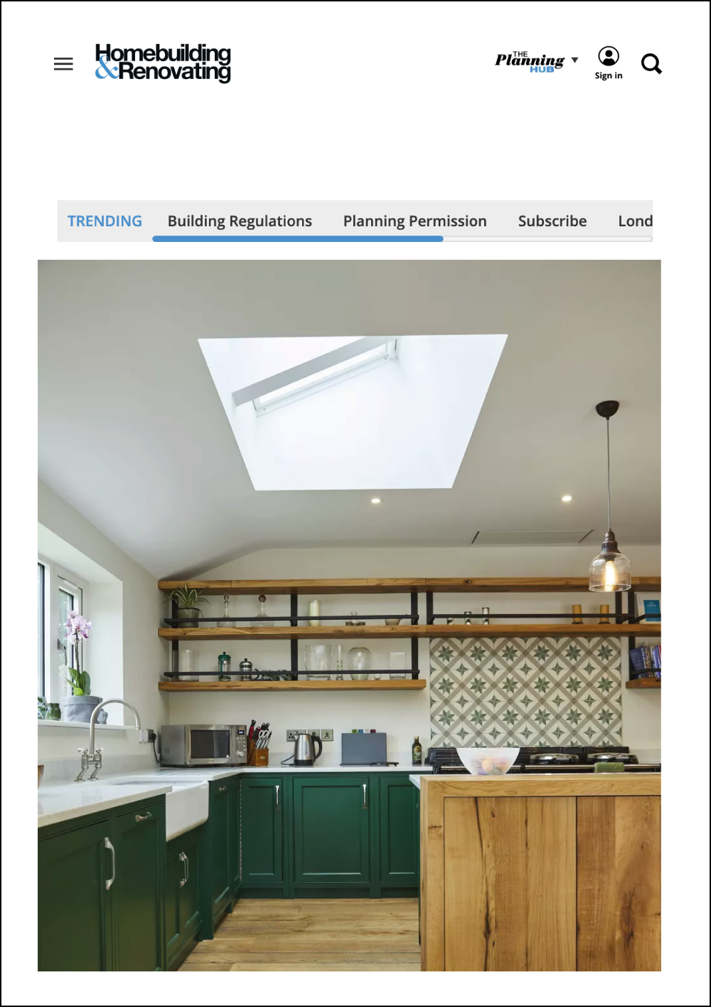 homebuilding and renovating