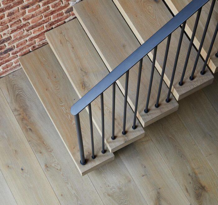 Bespoke oak stair treads
