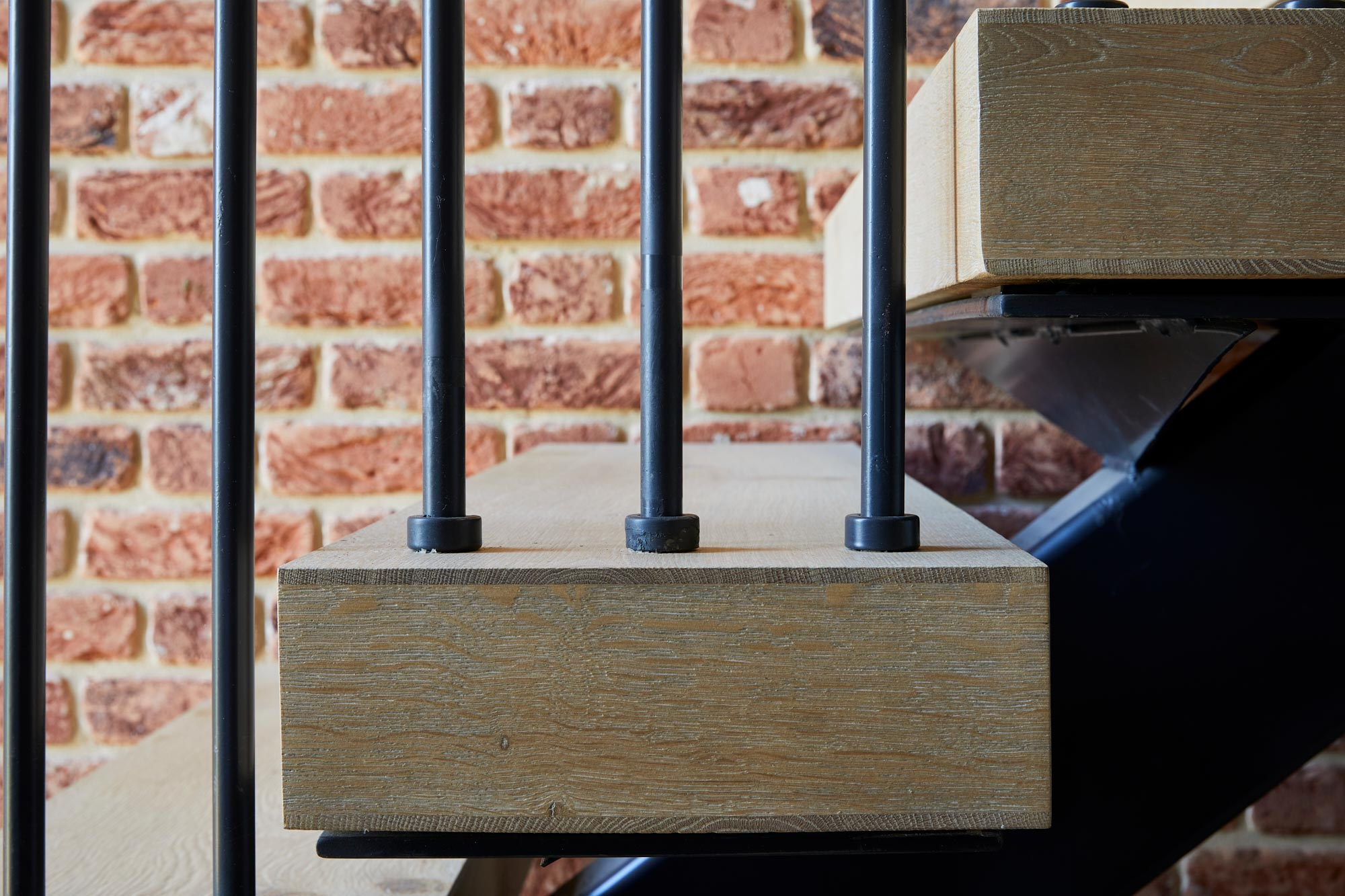Engineered oak stair tread