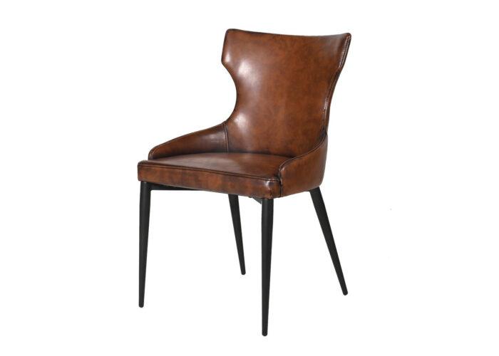 vintage brown dining chair
