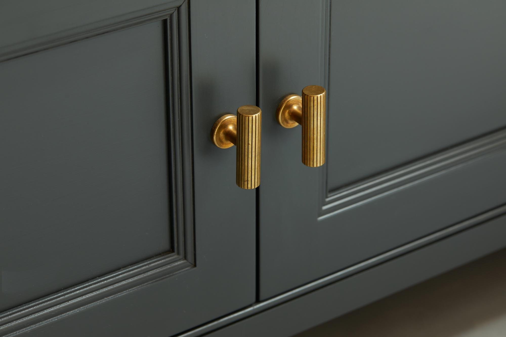 Armac Martin brass T kitchen hardware