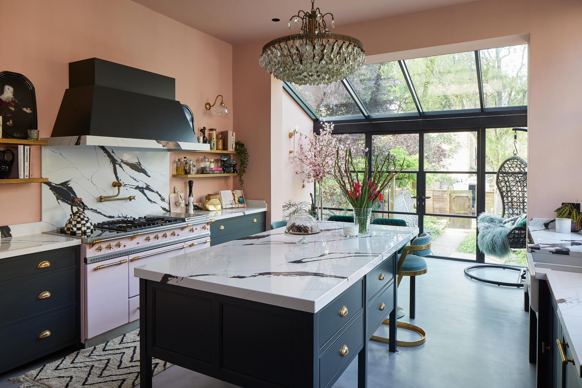 Bespoke bohemian style kitchen