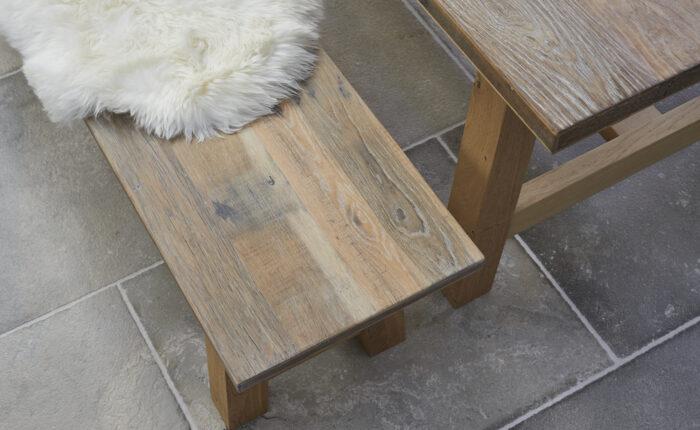 Oak dining table