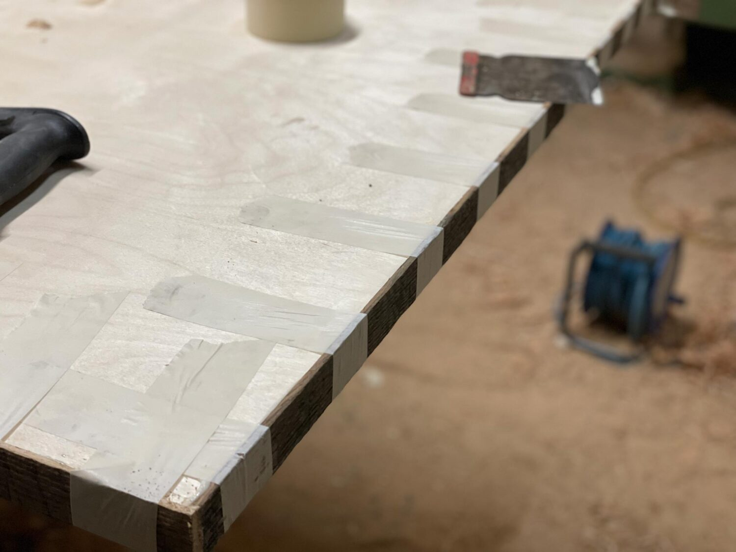 Dining table manufacturing process